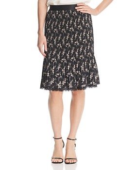 Le Gali - Luna Pleated Floral Skirt - 100% Exclusive