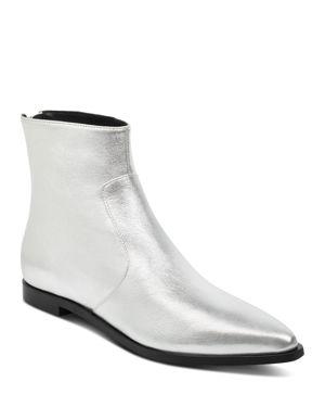Sigerson Morrison Women's Eranthe Metallic Leather Booties 2967303