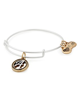 Alex And Ani Initial Two Tone Expandable Bracelet