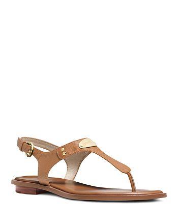 MICHAEL Michael Kors - Women's MK Plate Thong Sandals