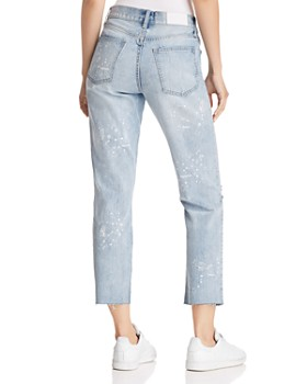 Pistola - High-Rise Astrology Straight-Leg Jeans in What's Your Sign