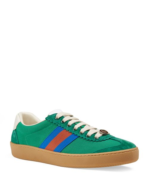 Gucci - Women's Lace Up Sneakers