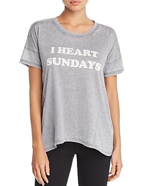 Pj Salvage I Heart Sundays Tee