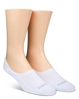 Calvin Klein - Low Cut Cushion Sole Socks, Pack of 2