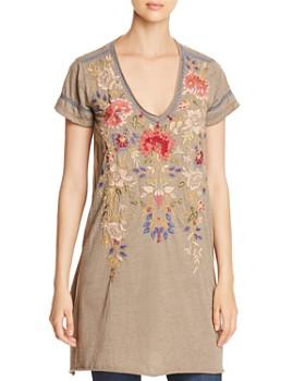 Johnny Was - Simona Embroidered Tunic Dress