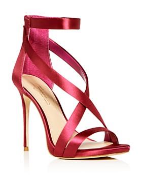 Imagine VINCE CAMUTO - Women's Devin Satin Ankle Strap High-Heel Sandals