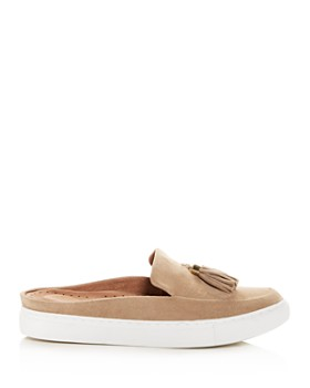 Gentle Souls by Kenneth Cole - Women's Rory Suede Apron Toe Sneaker Mules