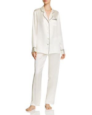 GINIA LONG SILK PAJAMA SET