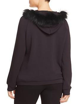 Marina Rinaldi - Oblio Asiatic Raccoon Fur-Trimmed Hoodie
