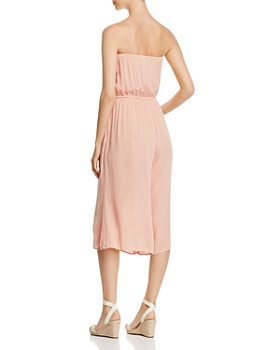 Elan - Semi-sheer Strapless Jumpsuit