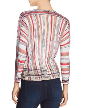 NIC and ZOE - Painted Desert Tie-Front Cardigan