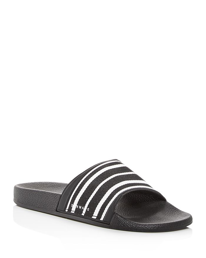 Danward - Men's Striped Slide Sandals