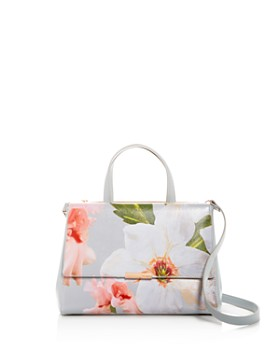 Ted Baker Chatsworth Bloom Fl Print Embossed Tote