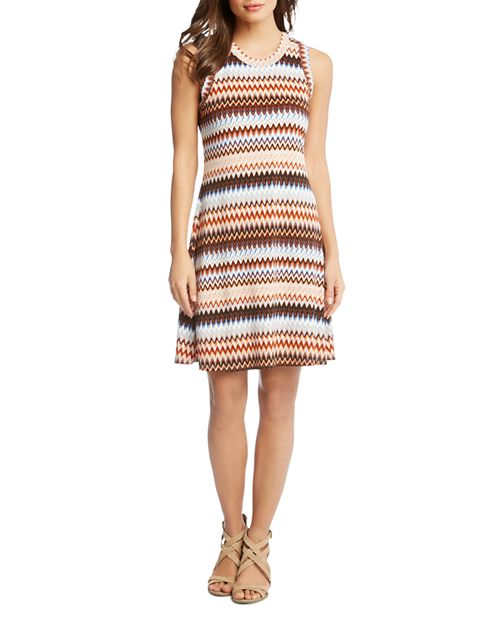 Karen Kane - Zig Zag Shift Dress