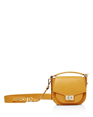 The Kooples Emily Mini Leather Saddle Bag