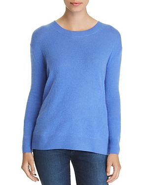 C by Bloomingdale's Lace-Up Cashmere Sweater - 100% Exclusive