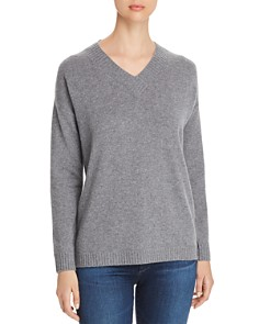C by Bloomingdale's - Drop-Shoulder Cashmere Sweater - 100% Exclusive