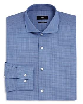 BOSS - Micro Check Slim Fit Dress Shirt