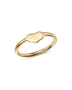 Moon & Meadow - Heart Ring in 14K Yellow Gold - 100% Exclusive