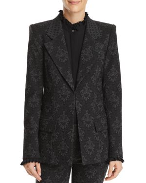 PORSHA JACQUARD JACKET - 100% EXCLUSIVE