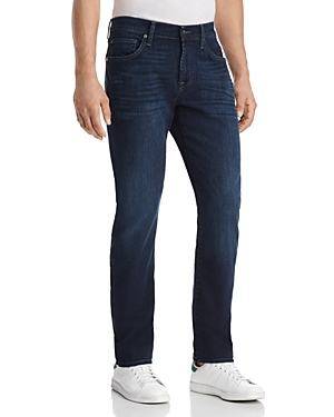 7 For All Mankind Standard Straight Fit Jean in Nightfrost