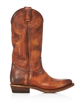 Frye - Women's Billy Tall Embroidered Leather Western Boots