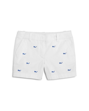 Vineyard Vines Girls' Embroidered Whale Shorts - Little Kid, Big Kid