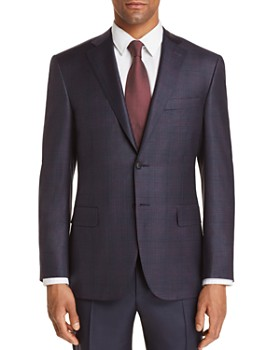 Canali - Plaid Classic Fit Sport Coat - 100% Exclusive