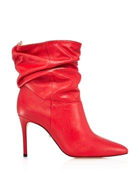 SCHUTZ - Women's Sydnee Leather High-Heel Booties - 100% Exclusive
