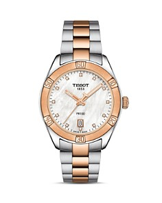 Tissot - PR100 Diamond Watch, 36mm