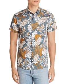 Scotch & Soda Pineapple-Print Short-Sleeve Shirt - Bloomingdale's_0