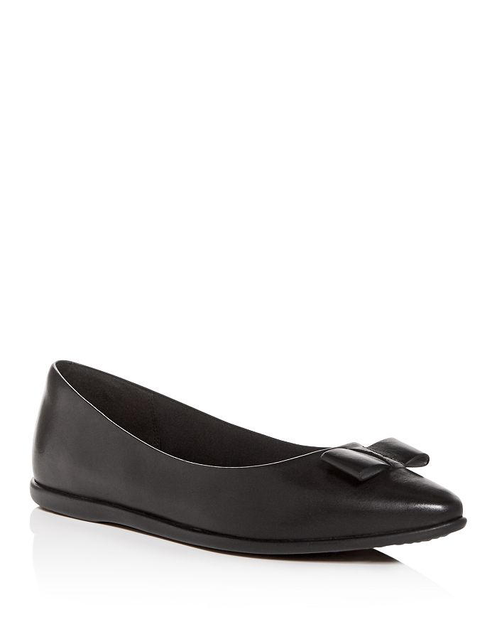 d0291d88412 Cole Haan Women s 3.ZeroGrand Leather Pointed Toe Ballet Flats ...