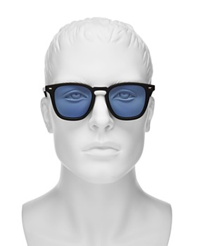 Le Specs - No Biggie Modern Rectangle Sunglasses, 49mm - 100% Exclusive