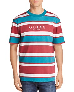 GUESS Peer Striped Tee - Bloomingdale's_0