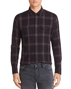 PAIGE Everett Plaid Regular Fit Shirt - Bloomingdale's_0
