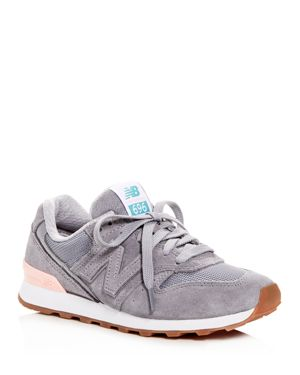 New Balance Women's 696 Suede Lace Up Sneakers