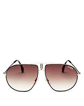 Carrera - Women's Brow Bar Aviator Sunglasses, 60mm