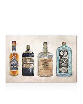 Oliver Gal - Hatcher and Ethan Vintage Liquors Canvas Art