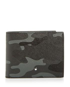Montblanc - Sartorial Camo Print Leather Bi-Fold Wallet