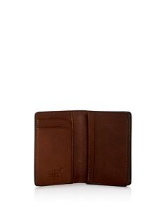 Montblanc - Meisterstück Sfumato Burnished Leather Bi-Fold Card Holder