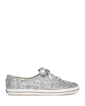 Keds - x kate spade new york Women's Glitter Lace Up Sneakers