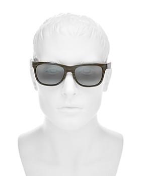 Maui Jim - Men's Kahi Polarized Mirrored Square Sunglasses, 57mm
