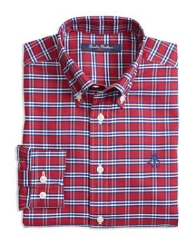 Brooks Brothers - Boys' Non-Iron Oxford Check Shirt - Little Kid, Big Kid