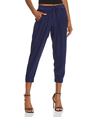 Ramy Brook Silk Jogger Pants-Women