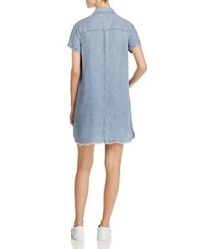 Billy T - Chambray Shirt Dress