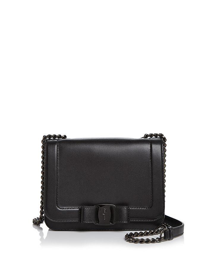 Salvatore Ferragamo - Vara Medium Leather Shoulder Bag