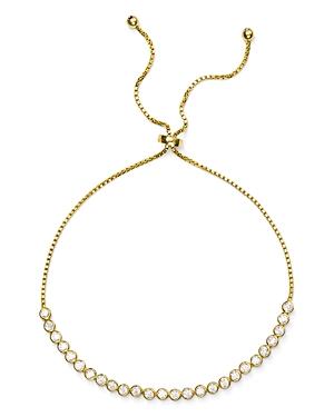 Aqua Pave Slider Bracelet in 18K Gold-Plated Sterling Silver or Sterling Silver - 100% Exclusive