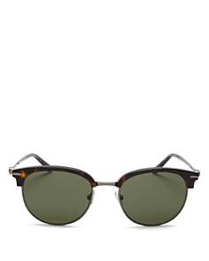 Salvatore Ferragamo - Men's Gancio Square Sunglasses, 52mm