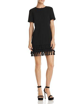 AQUA - Tassel-Hem Shift Dress - 100% Exclusive