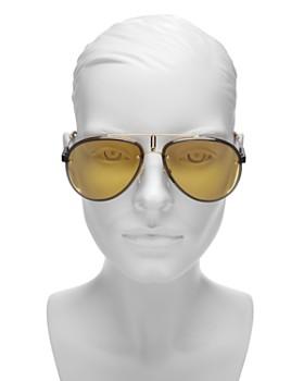 Carrera - Women's Glory Mirrored Brow Bar Aviator Sunglasses, 58mm